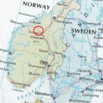 Kart sør-Norge